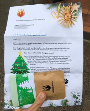 Weihnachtsbrief Muster