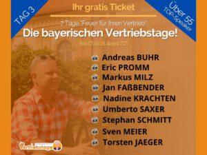 Die bayerischen Vertriebstage Tag 3