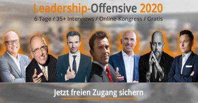 Leadership Offensive 2020: Über 45 der besten Führungs-Experten