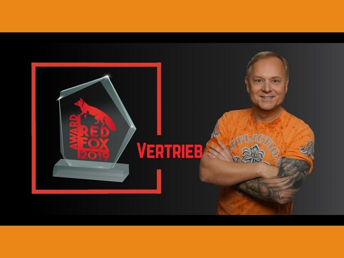 Uwe Rieder Sieger Red Fox Award