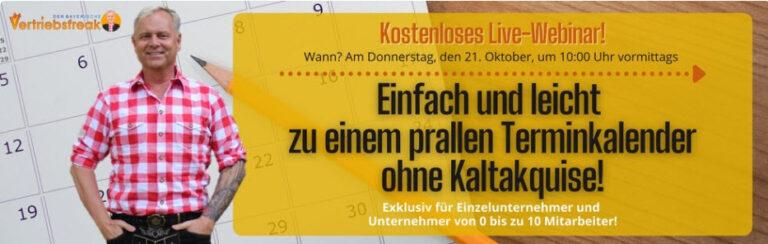 Voller Terminkalender ohne Kaltakquise: Uwe Rieder packt aus!